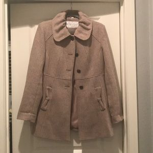 Jessica Simpson lined wool coat. Like new!